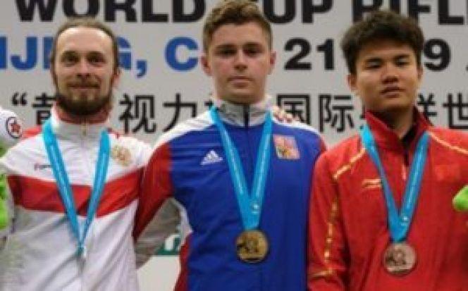 Сергей Каменский - серебряный призёр этапа Кубка мира в Пекине. На фото - слева