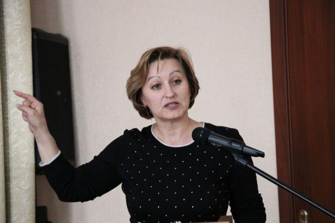 Совещание в АУОР. В центре внимания был доклад Елены Клюевой. Фото: Виталий Дворянкин