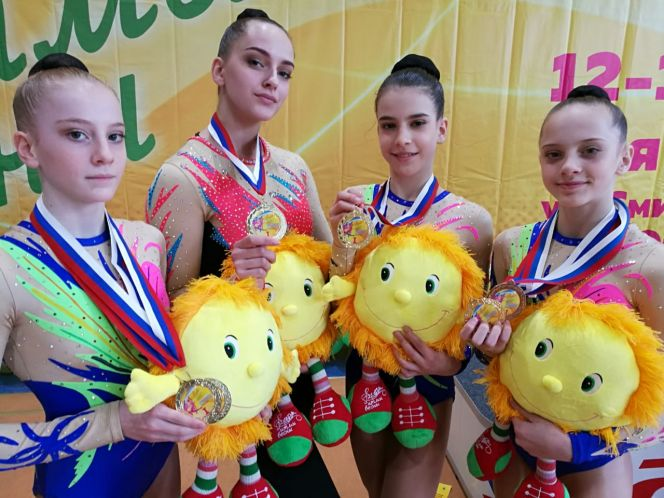 Алтайские спортсменки - победители и призеры турнира «Ритмы весны»