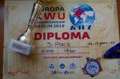 Никита Вебер - бронзовый призёр первенства Европы
