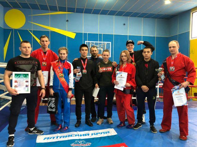 Сборная Алтайского края вернулась с командной бронзой с всероссийских соревнований