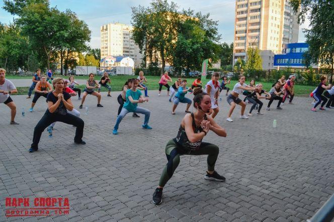В барнаульском Парке спорта начались тренировки под открытым небом