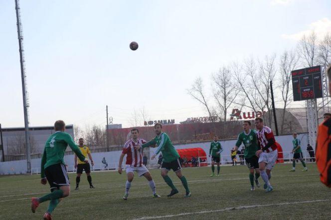 Алтайские команды сыграли очередные матчи первенства России среди любительских футбольных клубов