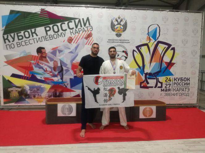 Михаил Нятин стал призером Кубка России