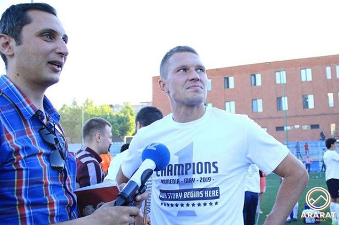 Антон Кобялко - чемпион Армении