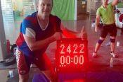 Павел Лесных стал победителем гиревого марафона в Санкт-Петербурге