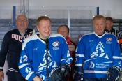 В Бочкарях состоялся дружеский хоккейный матч депутатов Госдумы РФ  с местной командой