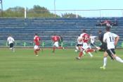 Рубцовская команда «Торпедо» выиграла у барнаульского «Полимера» со счетом 2:1