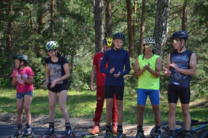 В селе Лесное Бийского района открылась новая спортивная площадка