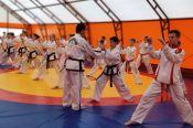 Барнаулец Никита Демин готовится к первенству мира по тхэквондо ИТФ под руководством мастера из Северной Кореи