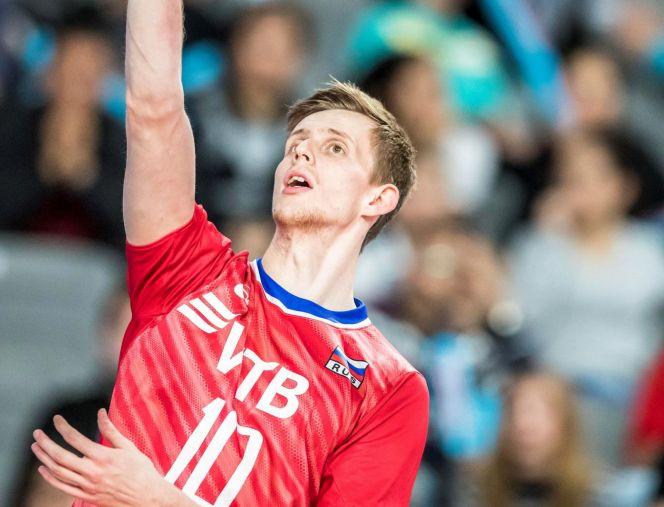 Федор Воронков. Фото FIVB