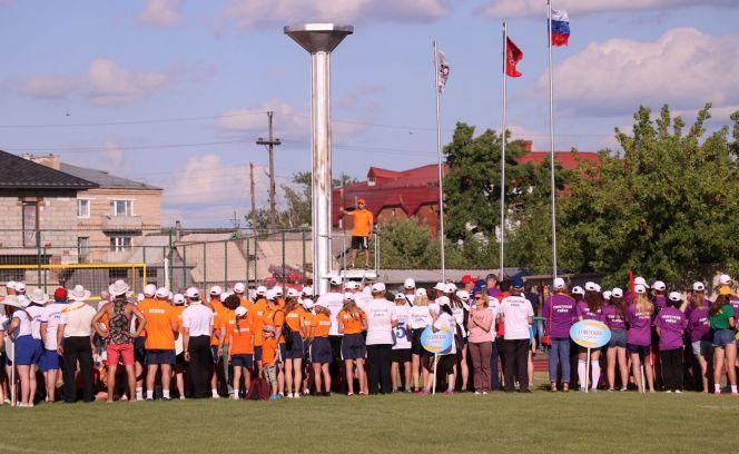 XLI летняя олимпиада сельских спортсменов Алтайского края. Церемония открытия