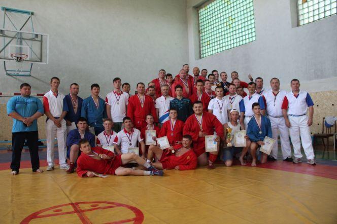 Самбисты Благовещенского района выиграли командный зачёт краевой олимпиады