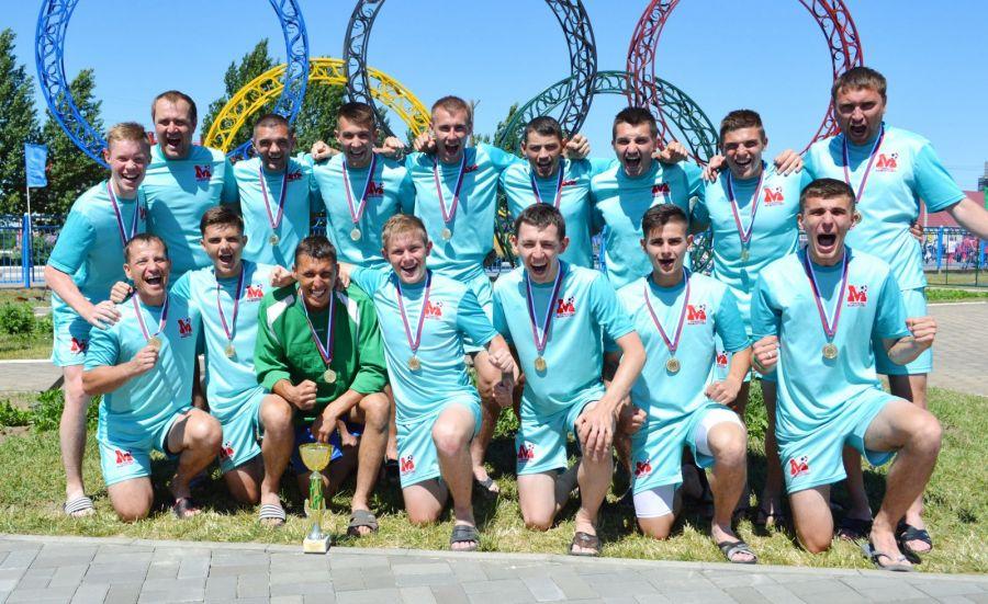 Мамонтовский район - чемпионы сельской олимпиады по футболу