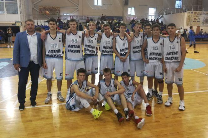 Алтайские баскетболисты заняли четвёртое место в финале IX летней Спартакиады учащихся России