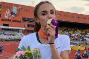 Полина Миллер выиграла первенство Европы среди спортсменок до 20 лет в беге на 400 метров