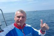 Барнаульский пловец Олег Чекушкин принял участие в заплыве между островами Сахалин и Хоккайдо