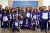 Губернатор Алтайского края Виктор Томенко встретился с участниками Всероссийского фестиваля дворового спорта