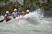 В Алтайском районе на реке Катунь состоялось первенство России по рафтингу