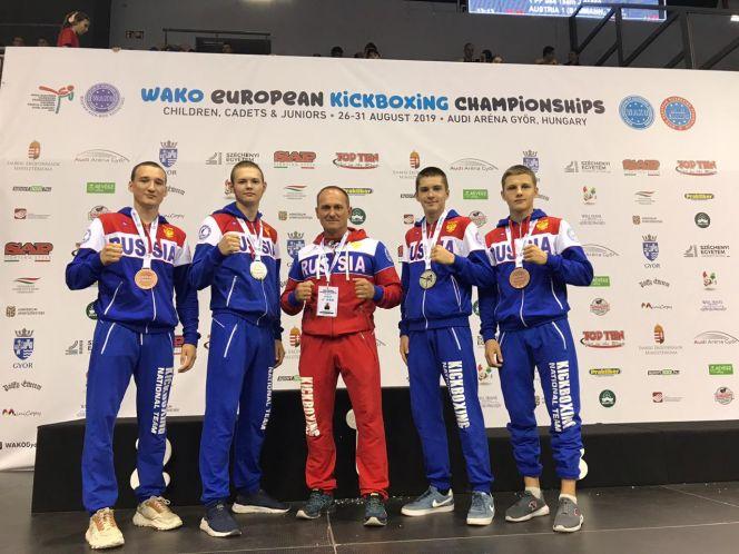 Алтайские спортсмены стали призерами первенства Европы