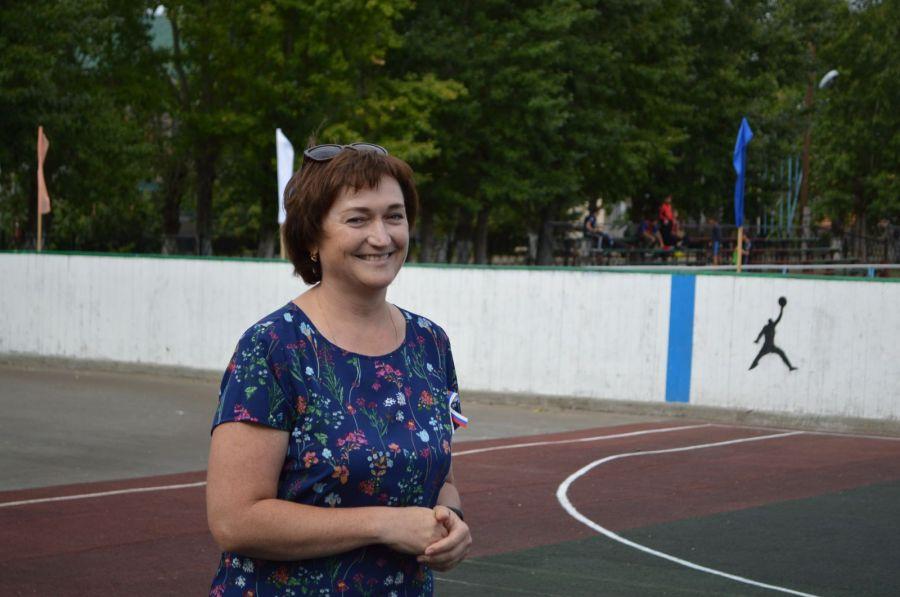 Валентина Карпенко оказывает баскетболу Бурлы финансовую поддержку