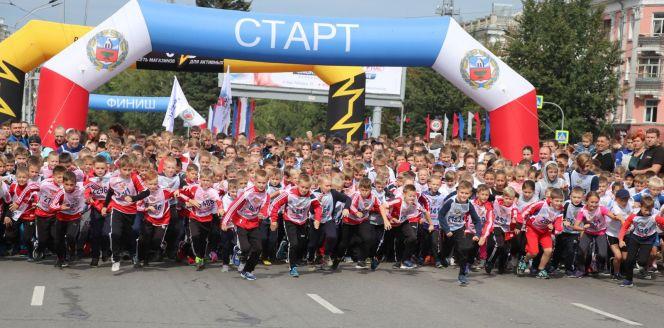 В Барнауле прошёл ежегодный Всероссийский фестиваль бега «Кросс нации - 2019»