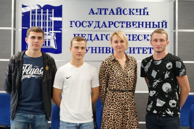 Известная спортсменка Татьяна Котова встретилась со студентами педуниверситета