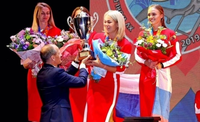 Екатерина Гусева из Барнаула - победительница и серебряный призёр чемпионата мира