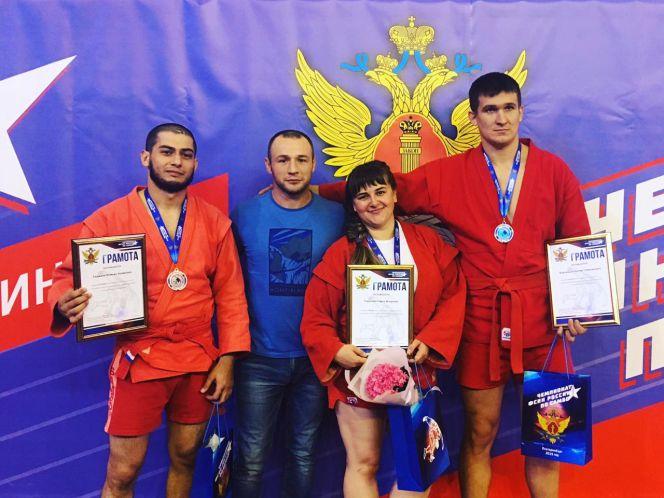 Сотрудники краевого УФСИН стали призерами чемпионата ФСИН России по самбо