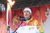 Олимпийский огонь прибыл в Барнаул