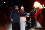 Эстафета Олимпийского огня в Барнауле