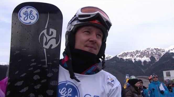 Алексей Живаев победил на этапе Кубка России в параллельном слаломе-гиганте.