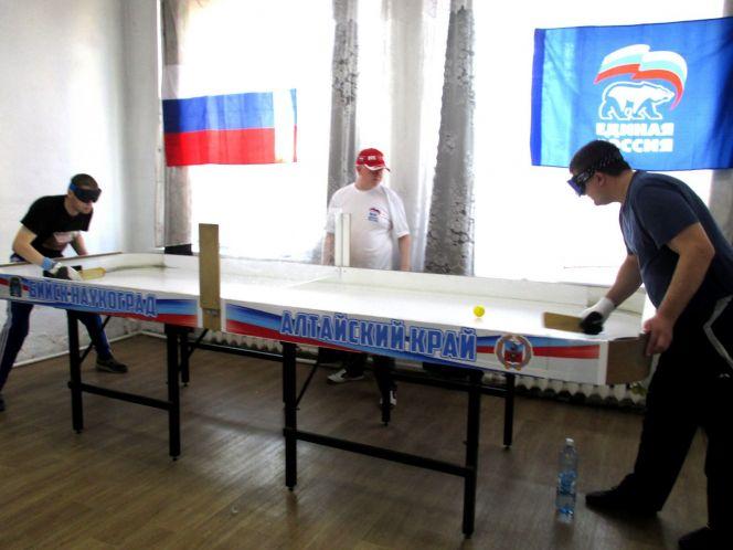В Бийске состоялся Открытый кубок Алтайского края по настольному теннису для людей с нарушением зрения