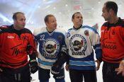 Виктор Томенко и члены правительства сыграли в хоккей со звездами ТВ и спорта