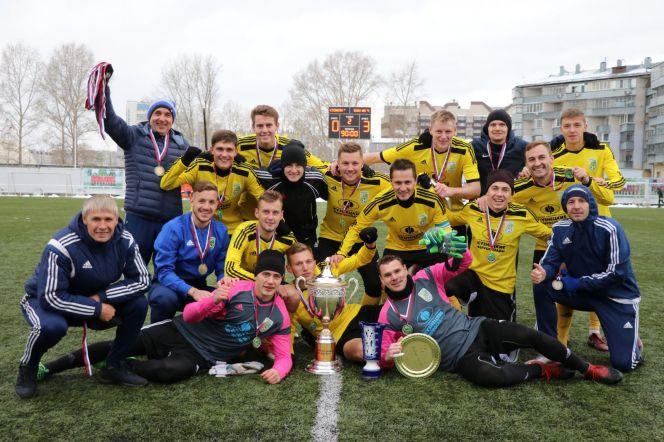 ФК «Новокузнецк» в Барнауле выиграл третий Кубок Сибири