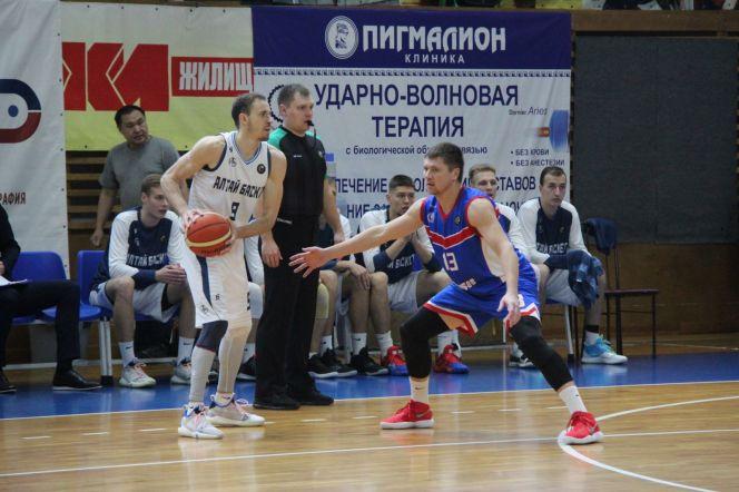 В повторном матче «АлтайБаскет» уступил «Тамбову» - 65:77