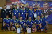 Турнир памяти Александра Семенюка среди ветеранов правоохранительных и силовых структур завершился победой краевого УФСИН