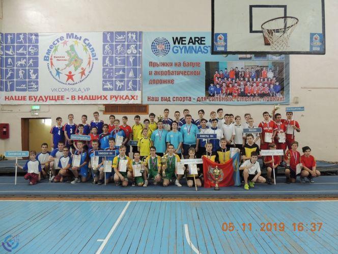 Юношеская команда Алтайского края стала серебряным призёром первенства России