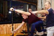 В бийском СК «Заря» прошла встреча с 13-кратным чемпионом мира по гребле на каноэ Максимом Опалевым (фото + видео)