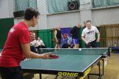 Соревнования по настольному теннису среди госслужащих выиграли команды пенсионного фонда и минэкономразвития