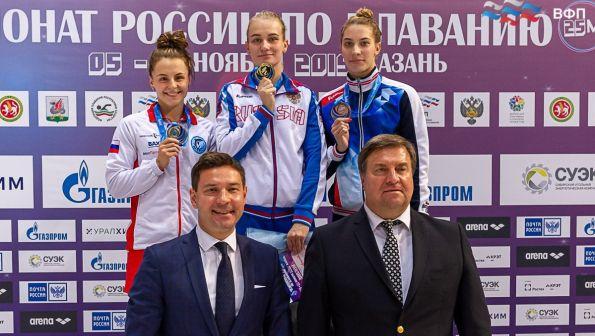Возвращение на пьедестал. Дарья Кулешова – серебряный призёр чемпионата России