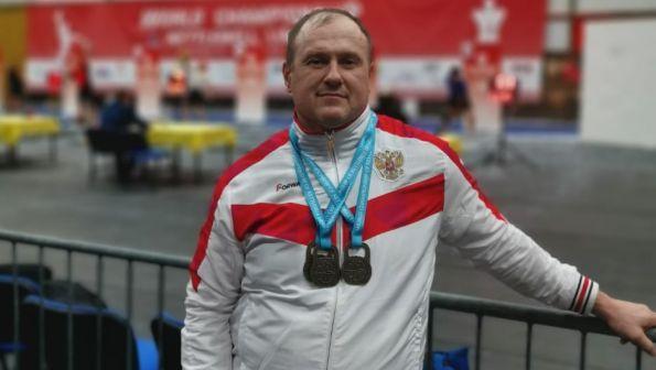 Павел Лесных завоевал четыре золота на ветеранском чемпионате мира в Сербии