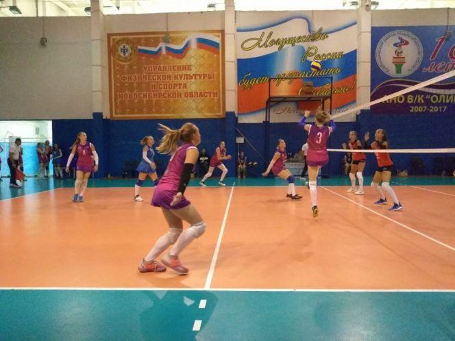 Волейболистки «Алтая-АГАУ» разгромили иркутскую «Ангару» – 3:0
