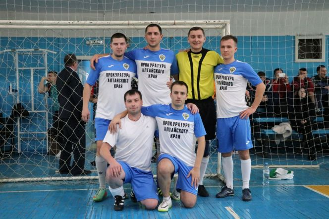 Краевая прокуратура выиграла турнир по мини-футболу Спартакиады госслужащих среди федеральных служб