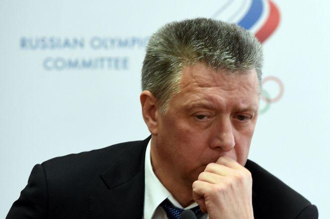 Президент Всероссийской федерации легкой атлетики (ВФЛА) Дмитрий Шляхтин. Фото: AFP