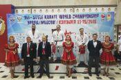 Алтайские спортсмены стали призерами первого чемпионата мира по всестилевому каратэ