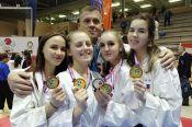 Инесса Цыганкова из Барнаула - двукратный бронзовый призёр первенства Европы по карате сётокан