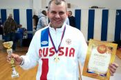 Барнаулец Павел Лимков - обладатель Кубка России среди спортсменов-ветеранов