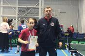 Кристина Агафонова из Барнаула - победительница первенства России по настольному теннису среди спортсменов с ПОДА