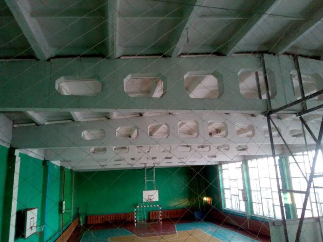 В Топчихе отремонтирована крыша детско-юношеской спортивной школы